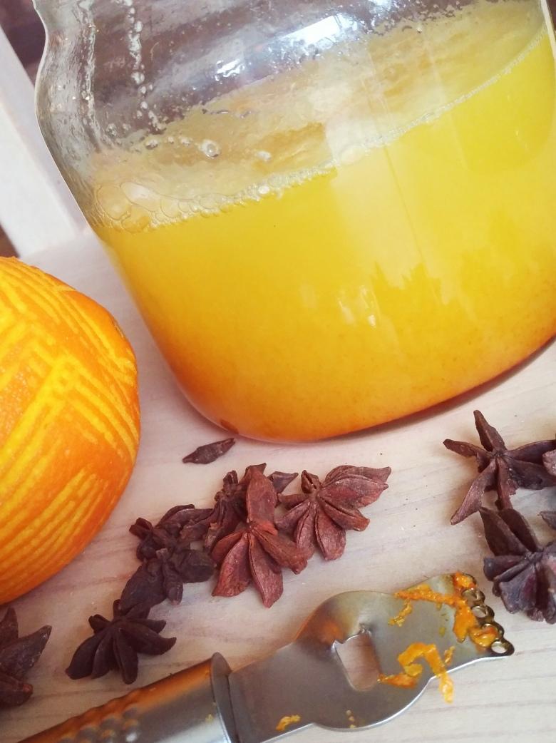 pomarańczowe mydło potasowe